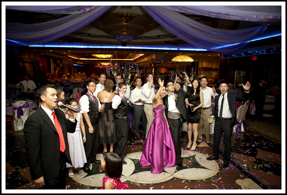 New York Chinese Wedding Jing Fong Restaurant Best