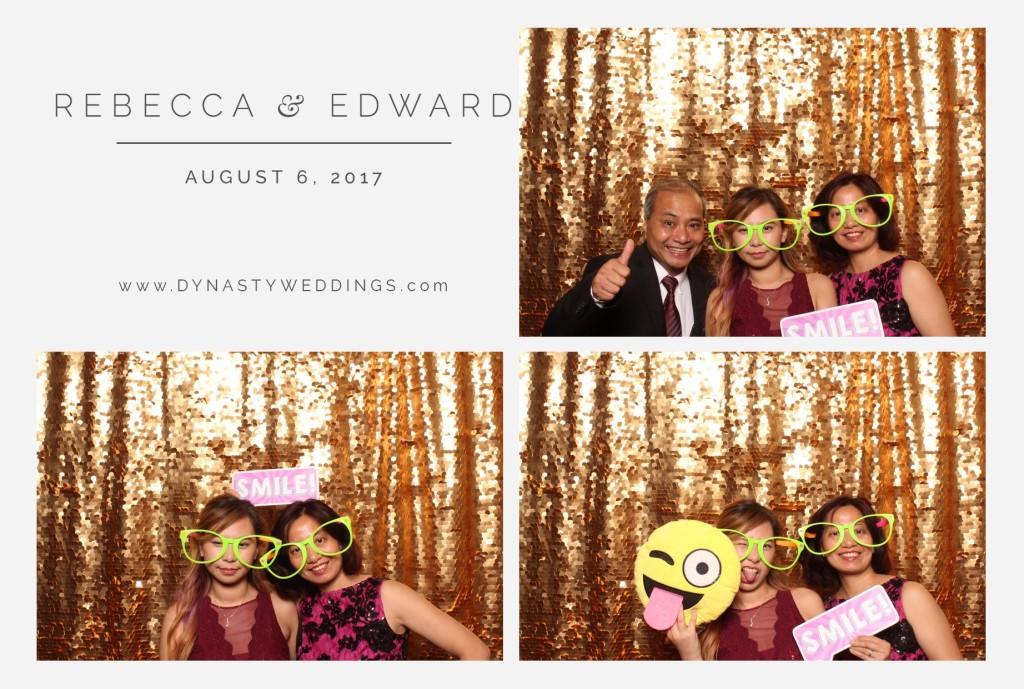 Rebecca Lee & Edward Lin's Wedding Photo booth by Dynasty Weddings
